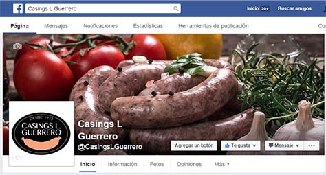 Casings L Guerrero en Facebook